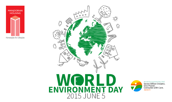 World environment day. Go green
