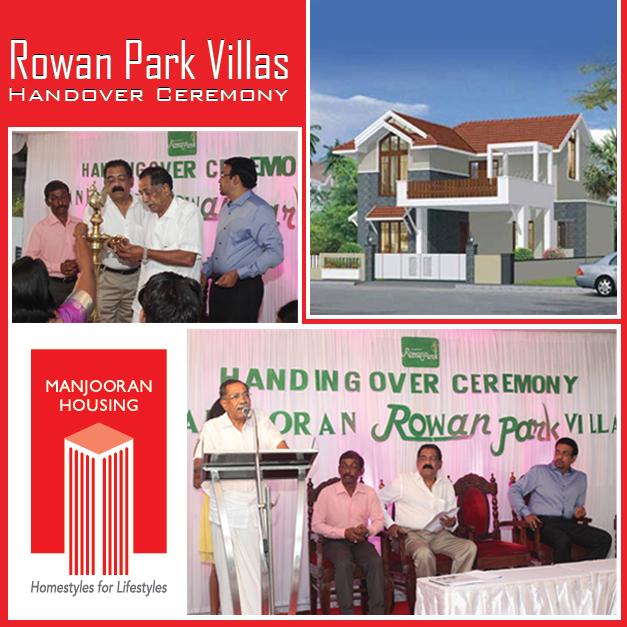 Rown Park Villa Handover