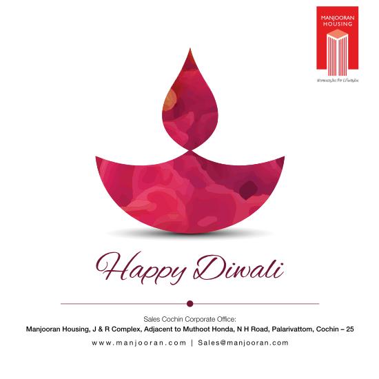Manjooran Housing Wishes you a Happy Diwali